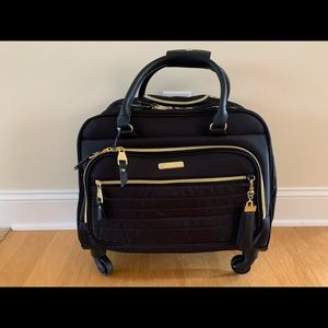 Steve Madden rolling computer tote